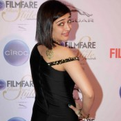 Akshara Haasan in Black One Piece at Filmfare Glamour and Style Awards 2015