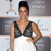 Neha Dhupia at L`Oreal Paris Femina Women Awards 2015