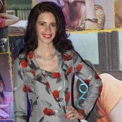 Kalki Koechlin in Printed One Piece at Margarita with A Straw First Look Launch
