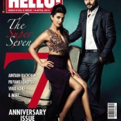 Priyanak Chopra Hot Photoshoot for HELLOW Magazine Cover Page April 2014 Issue