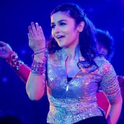 Alia Bhatt at Saifai Mahotsav 2014 Hot Pictures in Dancing Pose
