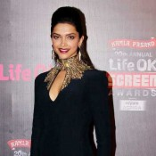 Deepika Padukone in Life ok Screen Awards 2014 Hot Photos