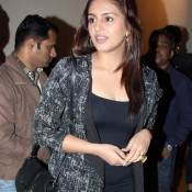 Huma Qureshi in American Hustle Screening 2014 at Empire Theatre in Mumbai