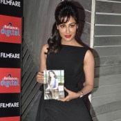 Chitrangada Singh in Black Dress – Hot Photos Launch Reliance Digital Filmfare Calendar 2014 in Mumbai