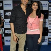 Parineeti Chopra and Sidharth Malotra at Korum mall Mumbai for Hasee Toh Phasee Movie Promotion