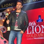 Ranveer Singh at 20th Lions Gold Awards 2014 Pics