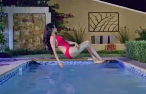 Amyra Dastur in Red Bikini Images – Hot Mr. X Movie Photos