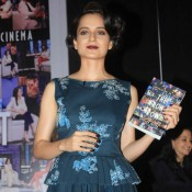 Kangana Ranaut Launch Book of Anupama Chopra's 'The Front Row: Conversations on Cinema'