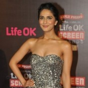 Vaani Kapoor Cleavage Pics – Hot Images Bold Photos of Deep Cleavages in Gray off shoulder Gown at Life OK Screen Awards 2014