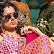 Kangana Ranaut in Pink Dress in Tanu Weds Manu Returns Movie Stills
