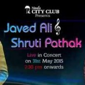 Javed Ali and Shruti Pathak Live In Concert Rajkot Gujarat – May 2015 at Neel's City Club