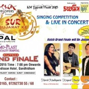 Harshi Madhaparia (MAD) in SUR GUJARAT KE 2015 – UK Indian Idol Winner Singer and Performer in Gandhidham