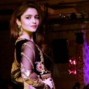 Alia Bhatt In Anarkali Suit At Khwaab Bridal Couture 2013 Hot Photos