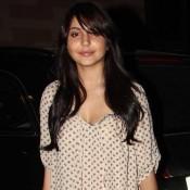 Anushka Sharma in Short Dress at Wolf Of Wall Street Screening Hot Photos