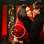 Deepika Padukone Wardrobe Malfunction Images in Red Dress 2013 Hot Pics