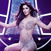 Hot Katrina Kaif in Transparent White Dress – Circus Dancing in Dhoom 3 Movie
