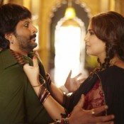 Arshad Warsi and Huma Qureshi Hot Photos HD Wallpaper in Dedh Ishqiya Movie 2014