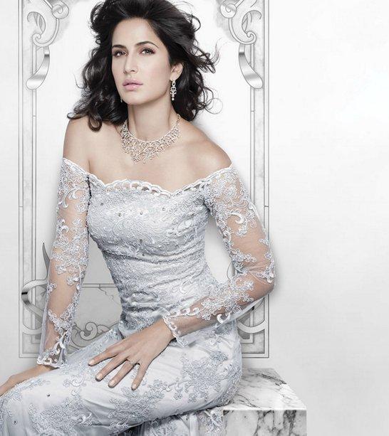 Katrina Kaif Hot Photoshoot for Nakshatra Diamond Jewellery Ad