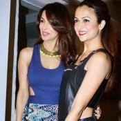 Bollywood Actress and Sexy Sisters Malaika and Amrita Arora for THE CLOSET Label in MUMBAI