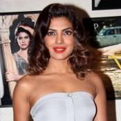Priyanka Chopra Bares Chest Milky White Skin Tight Body – Hot Photos at 2014 Ratnanis Calendar Launch