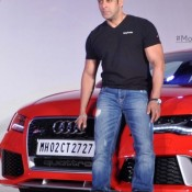 Salman Khan Launches The AUDI RS7 Sportback in January 2014 – Photos of Brand New Luxurious Car