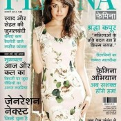 Shraddha Kapoor Cover Photo for Femina Hindi Magazine January 2014 Edition