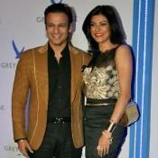 Vivek Oberoi and Sushmita Sen at Grey Goose Style Du Jour Awards 2013
