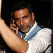 Akshay Kumar at Special Screening of Gabbar is Back 2015 Hindi Movie