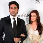 Aishwarya Rai Photos in White Anarkali Dress –Hot Pics in Cleavage Exposing White Suits