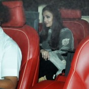 Aishwarya Rai in Black Dress of Sachin Tendulkar Farewell Party at Mumbai