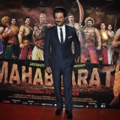 Anil Kapoor at Trailer Launch of Animated Film Mahabharat