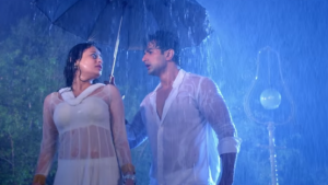 Sneha Ullal in White Dress in Bezubaan Ishq – Hot Navel Pics in Transparent Anarakli Suits