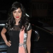 Hot Pics of Chitrangada Singh in See Through Black Dress at Shruti Seth Store Launch
