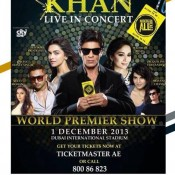 Shahrukh Khan Live Concert in Dubai