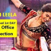 Expected First Day Box Office Collection of RAM LEELA Movie ? ?