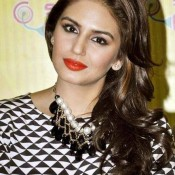 Huma Qureshi Close Up Pics – Hot Photos in Yellow Women Pant at Promotion of Dedh Ishqiya