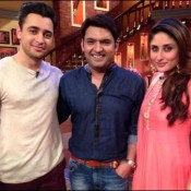 Kareena Kapoor in Comedy Nights With Kapil for Gori Tere Payar Mein Movie Promotions