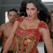 Katrina Kaif Deep Cleavage Pics from Hot Outfits in DHOOM 3 Song Dhoom Machale