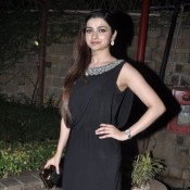 Prachi Desai in Black Gown at Maxim-KS Bikini Contest Mumbai