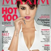 Priyanka Chopra On Maxim Magazine Cover Dec 13 Issue Hot Photos
