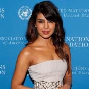 Priyanka Chopra in White Dress at United Nations Foundation Global Leadership Dinner in New York