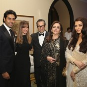 Aishwarya Rai Bachchan and Neeta Ambani in Party Held at Mumbai