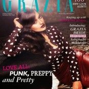 Sonakshi Sinha on Cover Page of Grazia Magazine November 2013 Edition