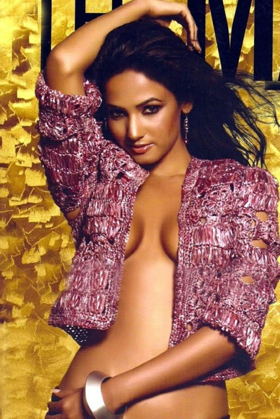 Sonal Chauhan in The Man Magazine Cover Hot Photos