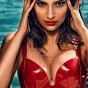 Sonam Kapoor Cleavage in GQ Magazine Photo shoots Hot Photos 2013