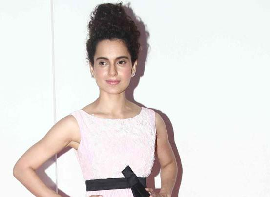 Kangana Ranaut in Pink Sleeveless Gown at R. Madhavan's Birthday Bash Party