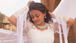 Sneha Ullal in White Dress in Bezubaan Ishq Hindi Movie Title Song Photos