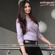 AMDAVAD JUNCTION Actress Ishita Salot in Formal Shirt and Pant