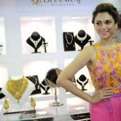 Aditi Rao Hydari Armpit Show at GLITTER Jewellery Exhibition Mumbai India