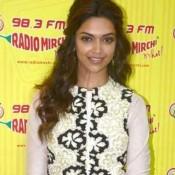Deepika Padukone Ram Leela Promotion Pics at Radio Mirchi Studio Mumbai
